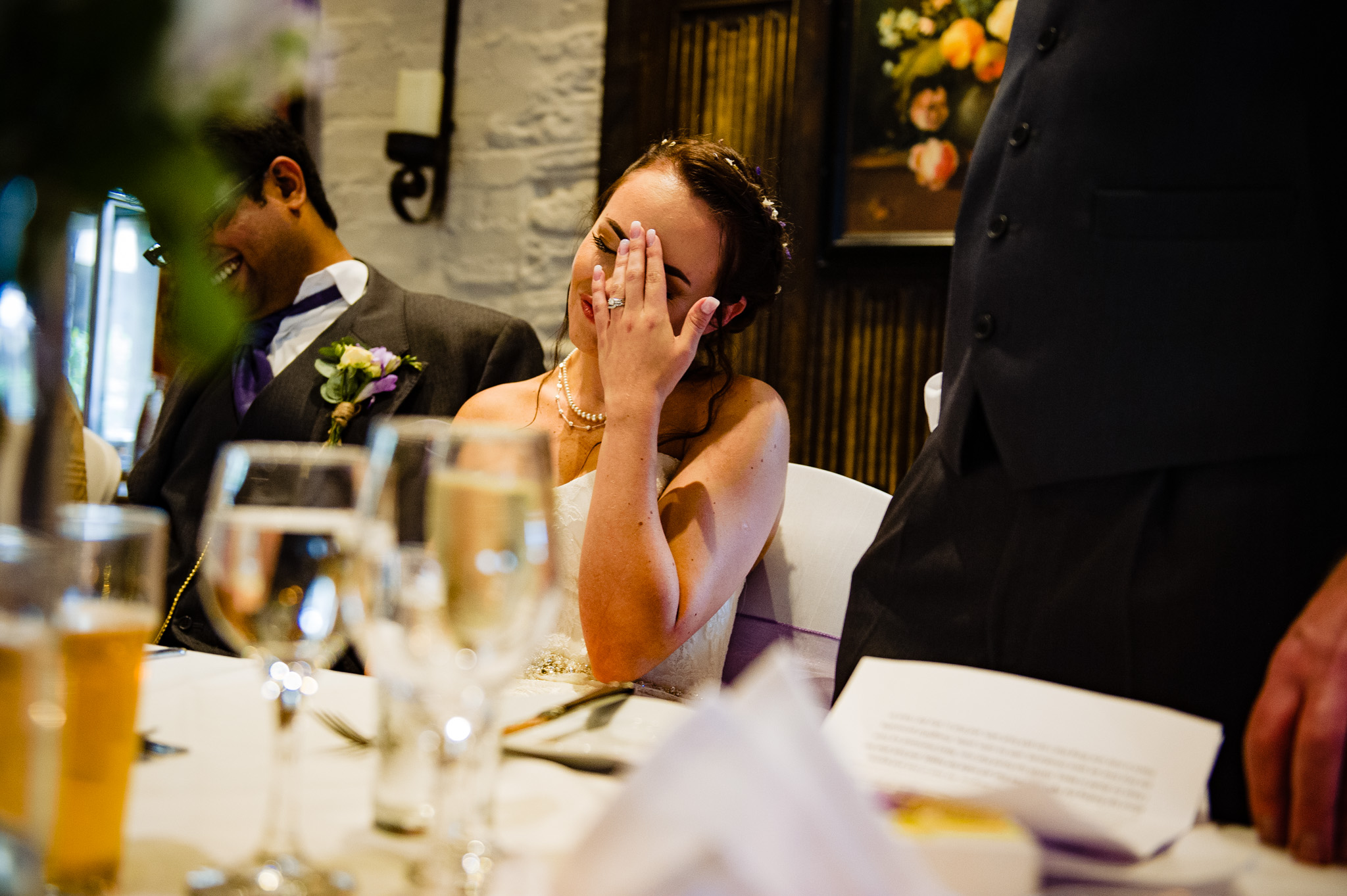 Embarrassing story about the bride