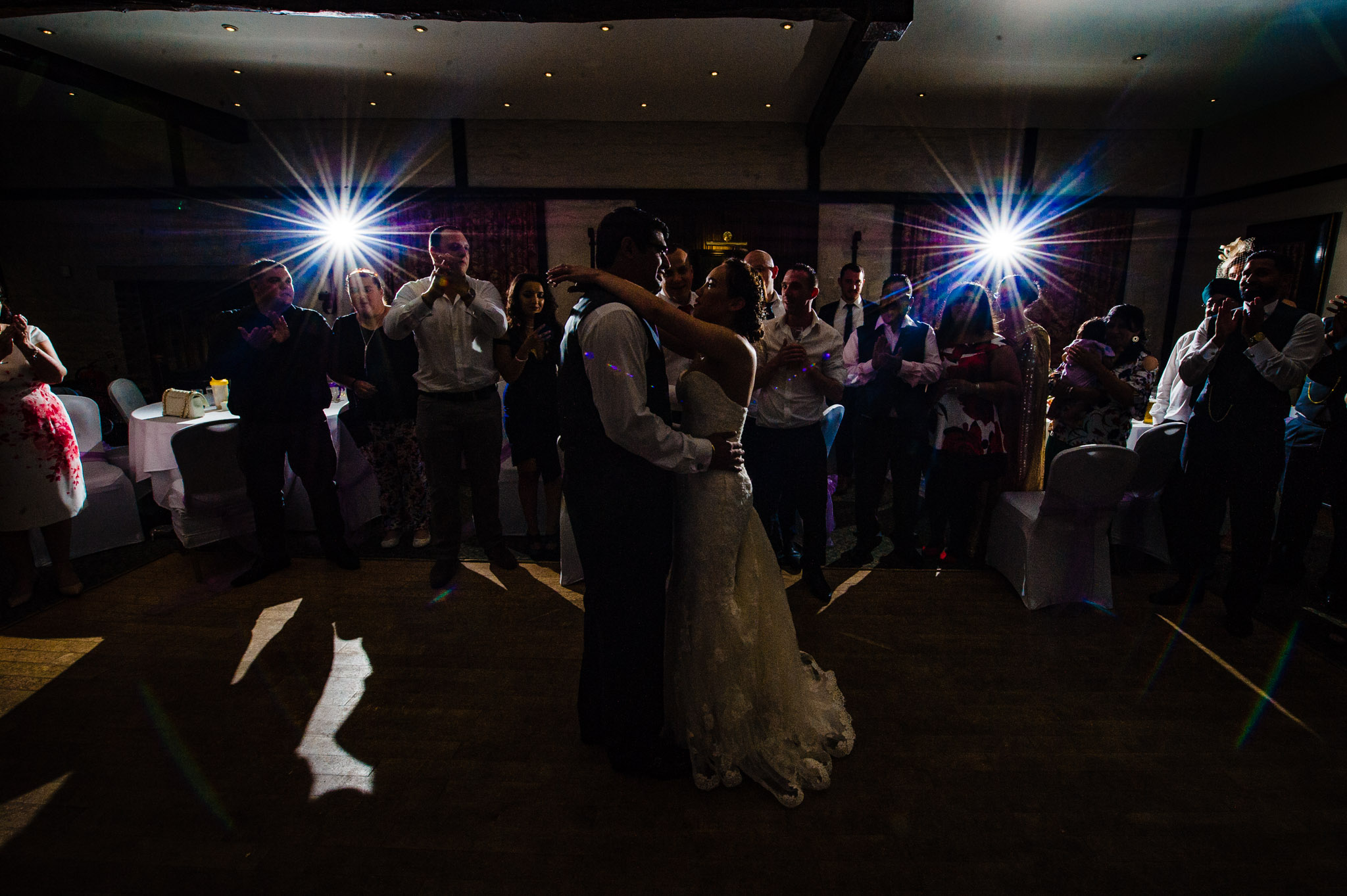 First dance which is backlit